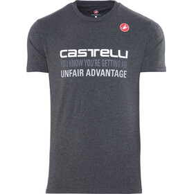 Castelli Advantage T-Shirt Men melange grey